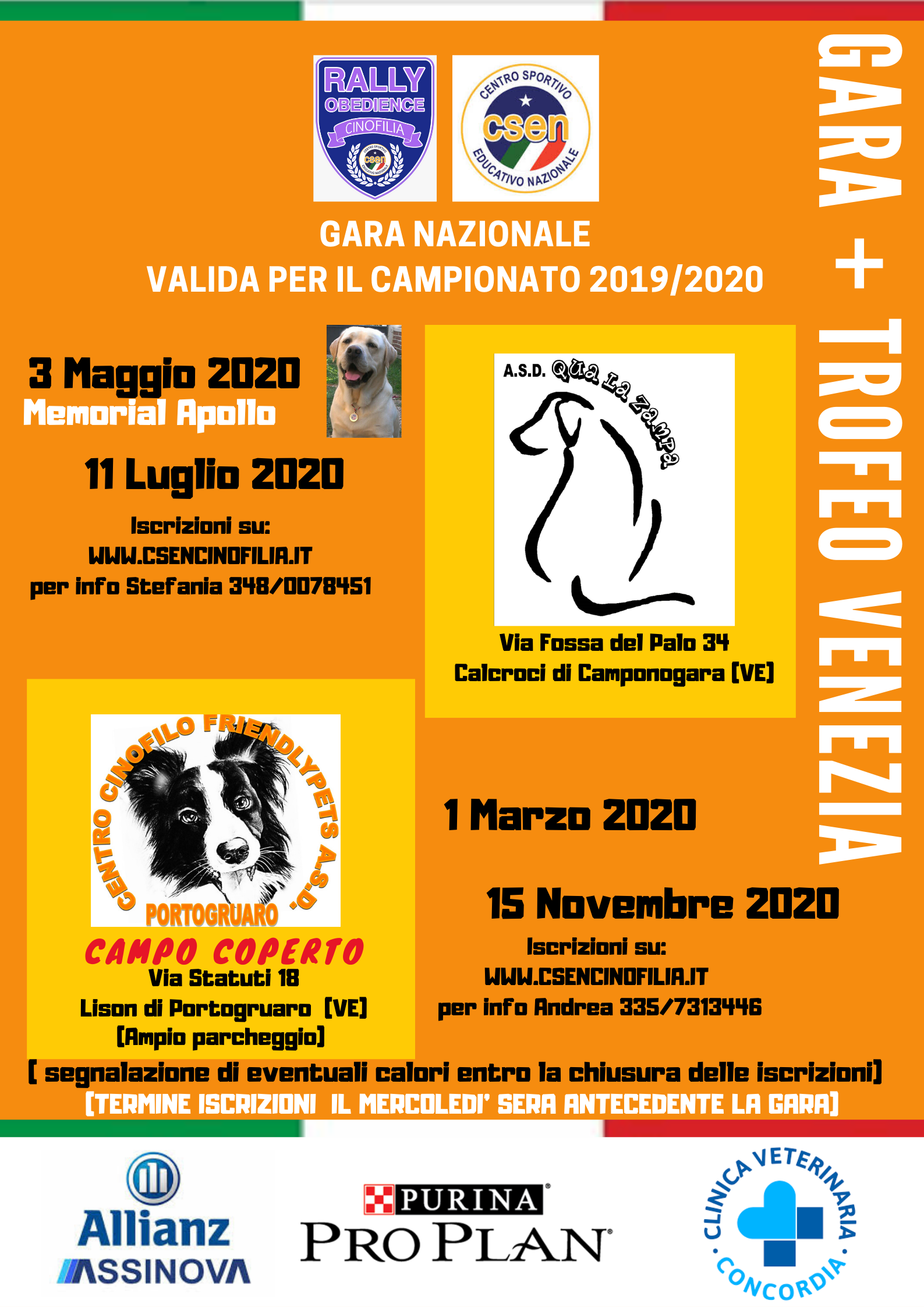 Trofeo Venezia Rally Obedience - CSEN